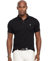 Polo Ralph Lauren Classic-Fit Stretch-Mesh Polo - Lyst