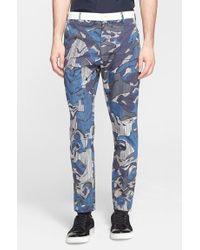 Kenzo Print Chino Pants - Lyst
