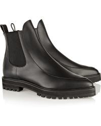 Proenza Schouler Leather Chelsea Boots - Lyst