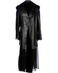 Yohji Yamamoto Full-length Jacket - Lyst