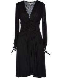 Celine Black Short Dress - Lyst