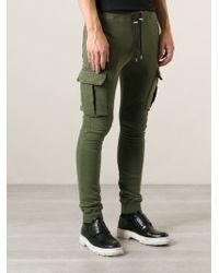 Balmain Track Trousers - Lyst
