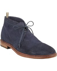 Officine Creative Suede Chukka Boots - Lyst