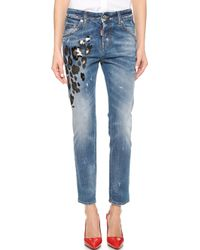 DSquared² Cool Girl Jeans - Blue - Lyst