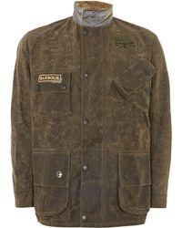Barbour Steve Mcqueen Antique Bration Wax Jacket - Lyst