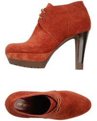 Sergio Rossi Laceup Shoes - Lyst