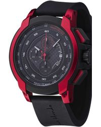 Ritmo Mundo - 'quantum I' Chronograph Silicone Strap Watch - Lyst