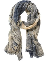 Betty & Co. - Abstract Print Scarf - Lyst