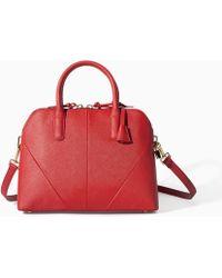 Zara Red Minicity Bag - Lyst