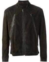 Maison Margiela Biker Jacket - Lyst