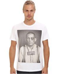Diesel White Teckart Tshirt - Lyst