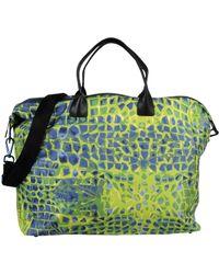 Dirk Bikkembergs Travel & Duffel Bag - Blue