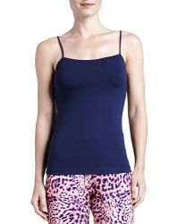 Cosabella Talco Long Camisole Navy Small - Lyst