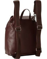 Vivienne Westwood Purple Leather Backpack - Lyst