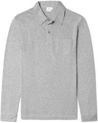 Sunspel Long Sleeve Riviera Polo Shirt - Lyst