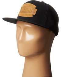 Nixon Taylor Snapback Hat - Lyst