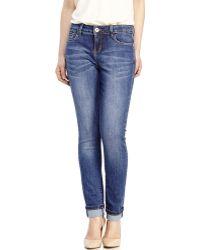 Catherine Malandrino | Dark Wash Natalie Ankle Biter Jeans | Lyst