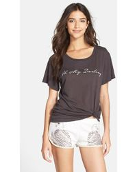 All Things Fabulous - Short Sleeve Graphic Tee - Lyst