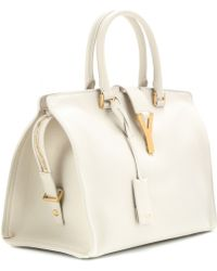 Saint Laurent Cabas Classique Y Leather Tote - Lyst