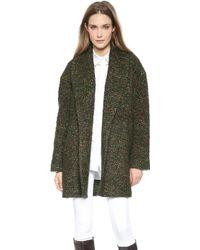 Jenni Kayne - Shawl Collar Coat - Forest - Lyst