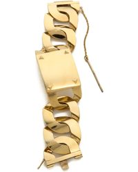 House of Harlow 1960 - Id Bracelet - Gold - Lyst