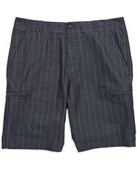 Calvin Klein Window Pane Shorts - Lyst