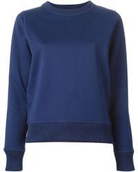 Acne Studios 'Vernina' Sweatshirt - Lyst