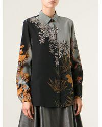 Etro Floral Print Shirt - Lyst