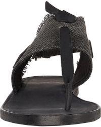 Rag & Bone Claire T-Strap Sandals - Lyst