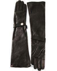 DIESEL - Elbow-Length Gloves - Lyst