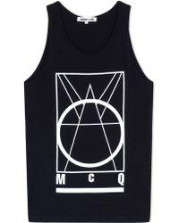 McQ Alexander McQueen | Sleeveless T-shirt | Lyst