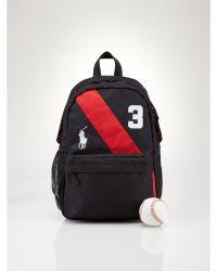 Ralph Lauren - Mini Banner-Striped Backpack - Lyst