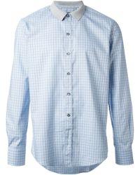 Lanvin Checked Shirt - Lyst