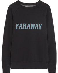 Etoile Isabel Marant East Printed Cotton-jersey Sweatshirt - Lyst