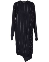 Stella McCartney Blue Kneelength Dress - Lyst
