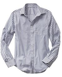 Gap Noniron Tattersall Shirt - Lyst