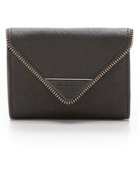 Rebecca Minkoff Molly Metro Wallet with Black Hardware  - Lyst