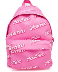 Moschino Barbie Leather Backpack - Lyst