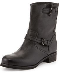 La Canadienne Courtney Leather Ankle Boot - Lyst