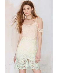 Nasty Gal Total Fader Lace Dress - Lyst
