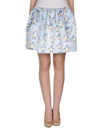 Au Jour Le Jour Mini Skirt - Lyst