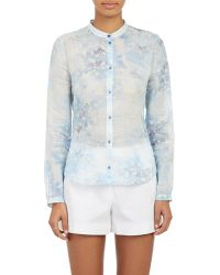 Cacharel Floral Voile Fitted Shirt - Lyst