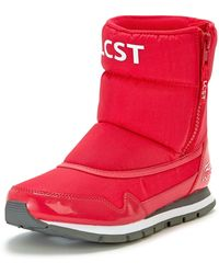 Lacoste Moonball Quilted Ankle Boots - Lyst