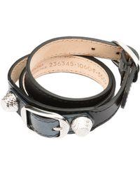 Balenciaga - Holiday Collection Giant Bracelet Triple Tour - Lyst