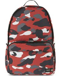 A Bathing Ape - Porter Warm Up Camouflage Backpack - Lyst