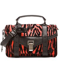 Proenza Schouler Tiny Ps1 Wood Grain Print - Lyst