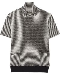 Band of Outsiders - Striped Cotton-blend Jumper - Lyst