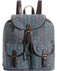 Rampage Aztec Print Backpack - Lyst
