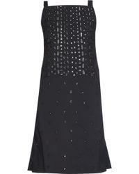 OSMAN | Embellished Square-neck Dress | Lyst