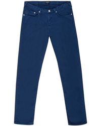 Paul Smith | Men's Garment-dye Blue Jeans | Lyst